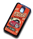 KOOLART PETROLHEAD SPEED SHOP Design For Retro Mk3 Ford Fiesta RS Turbo RST Case Cover Fits Samsung Galaxy S5